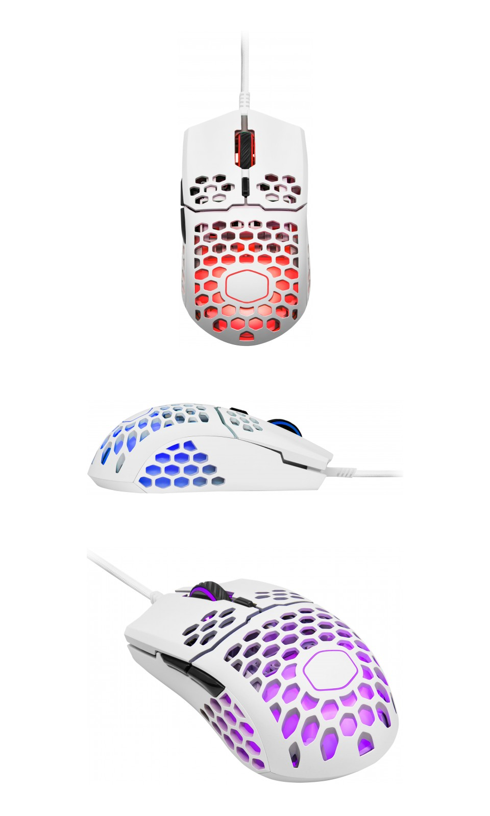 Cooler Master MM711 RGB Gaming Mouse Matte White product