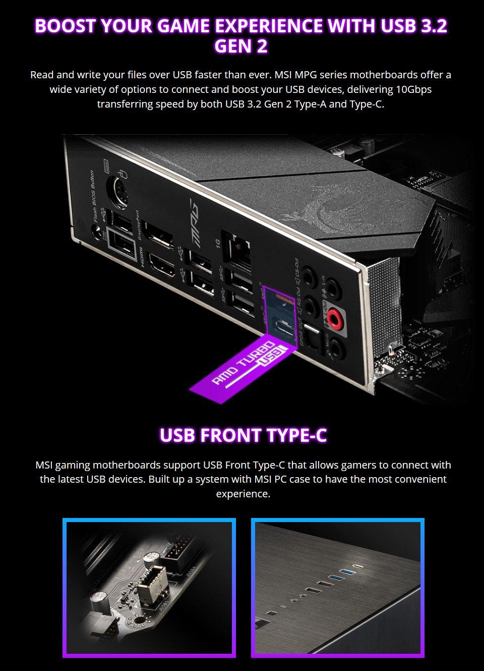 MSI MPG B550 Gaming Plus Motherboard features 4