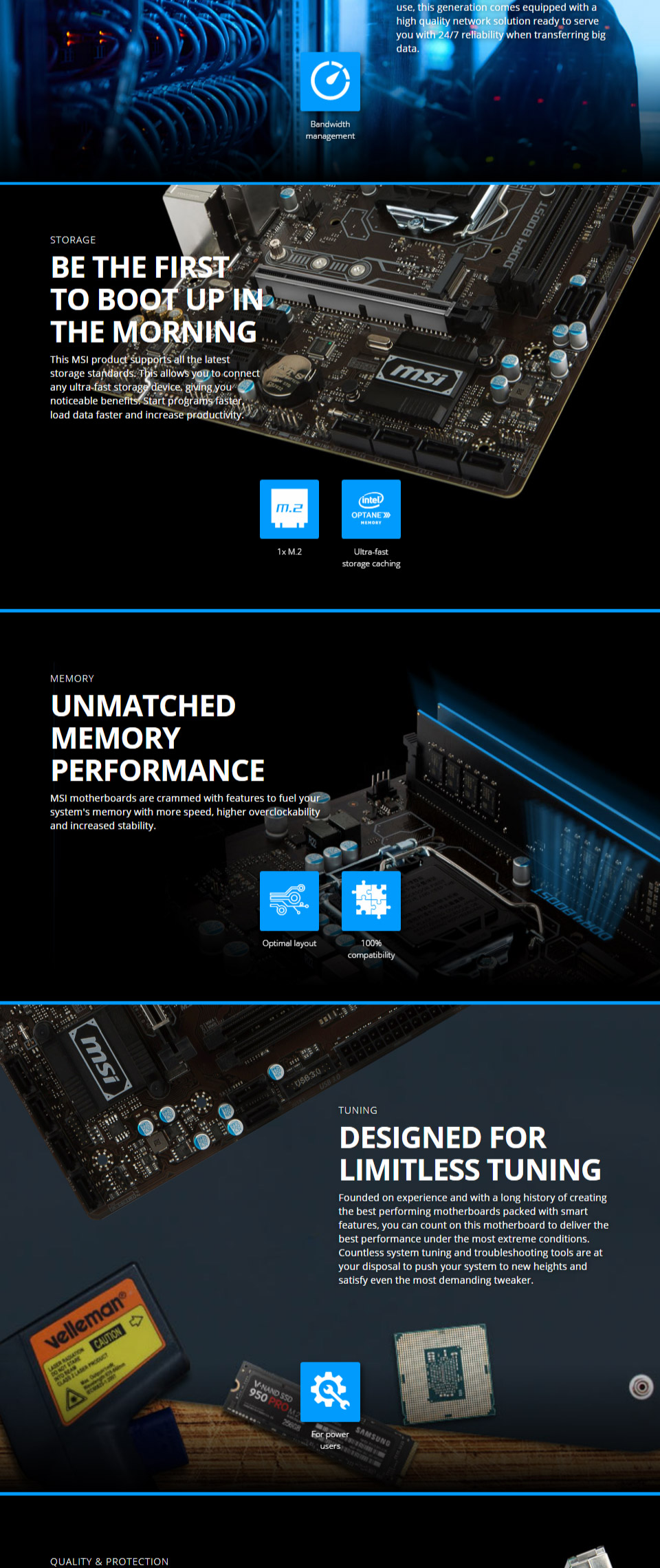 MSI B250M Pro VD Motherboard [MSI-B250M-PRO-VD] : PC Case Gear