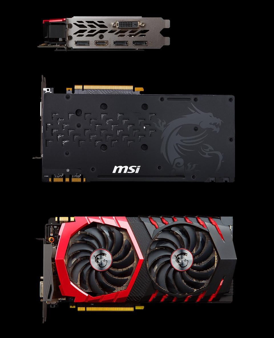 MSI GeForce GTX 1070 Ti Gaming 8GB [MSI-GTX1070-Ti-GAMING-8G] : PC
