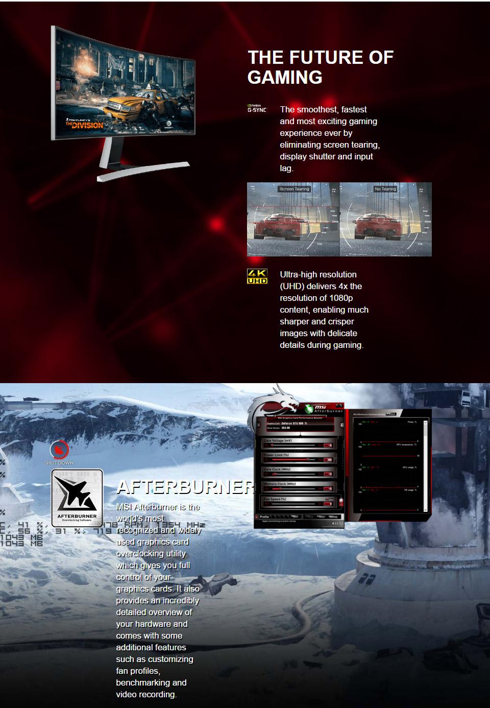 MSI GeForce GTX 1050 Ti 4GT OC 4GB