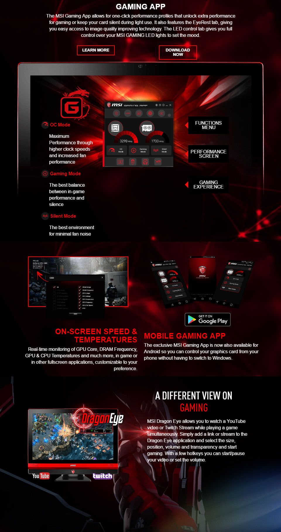 MSI GeForce GTX 1070 Gaming X 8GB [MSI-GTX1070-GAMING-X-8G