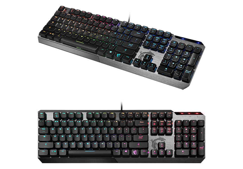 MSI Vigor GK50 Low Profile Mechanical Keyboard product