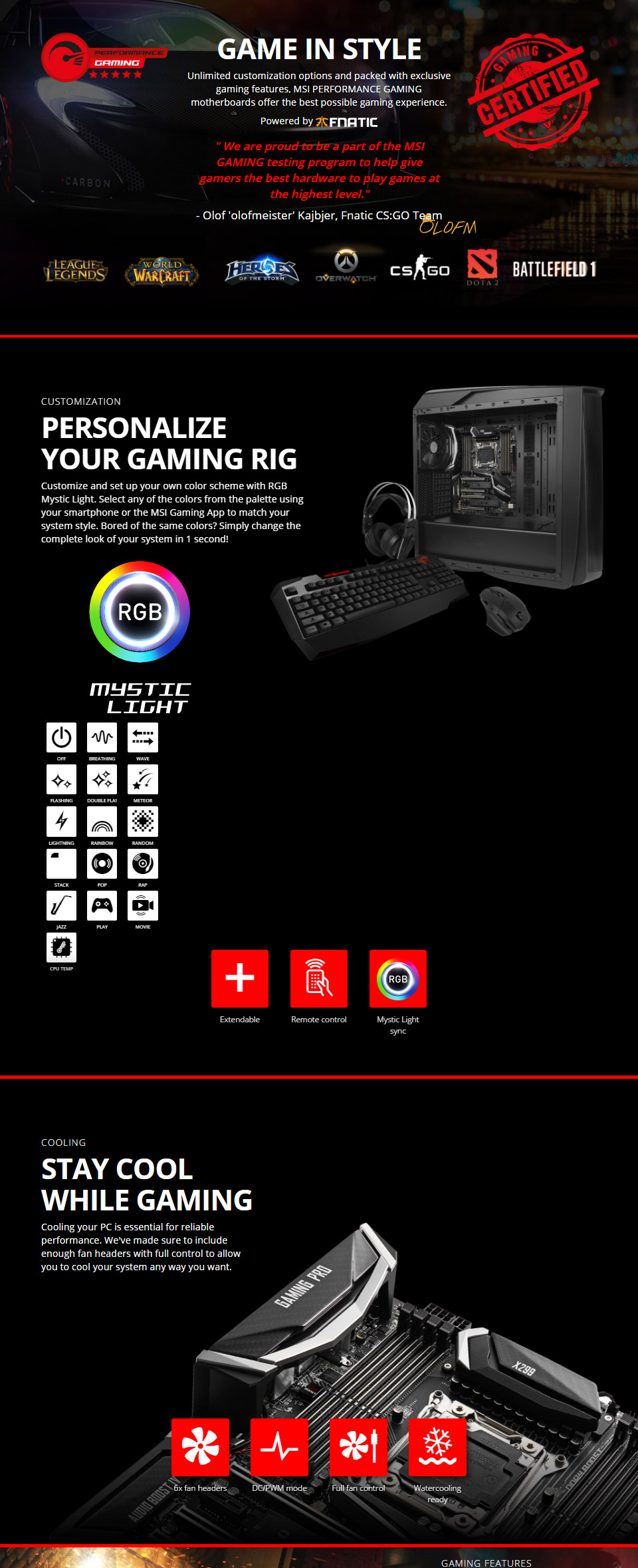 MSI X299 Gaming Pro Carbon AC Motherboard [MSI-X299-GAMING-PRO