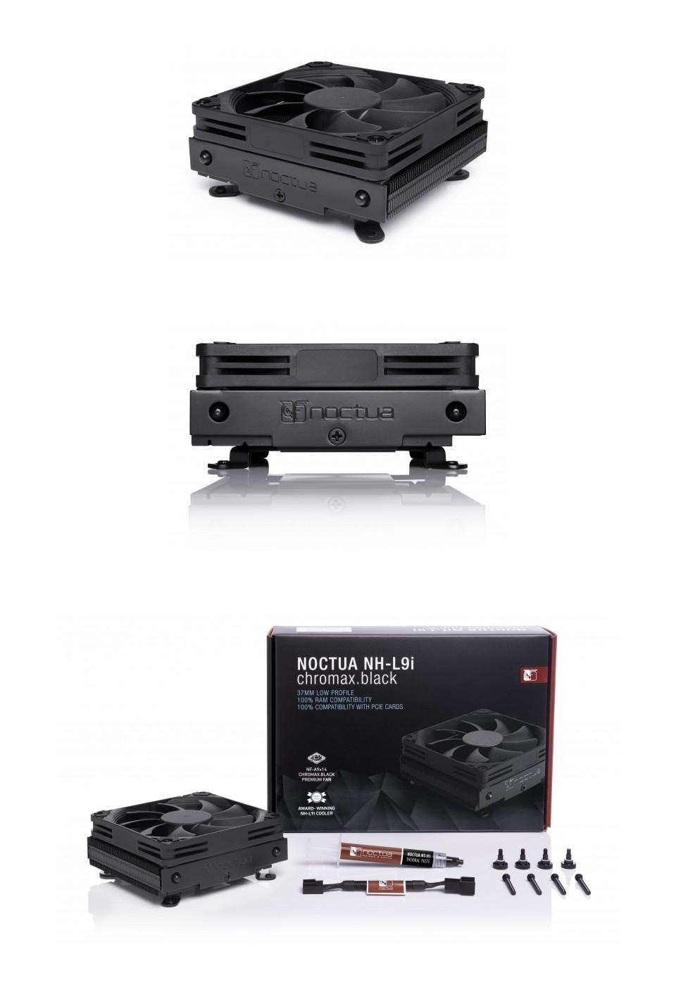 Noctua NH-L9i Low Profile Chromax CPU Cooler Black product