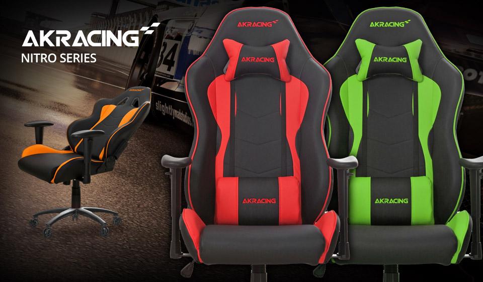 Magnificent Ak Racing Nitro Series Office Gaming Chair Black White Ak Theyellowbook Wood Chair Design Ideas Theyellowbookinfo
