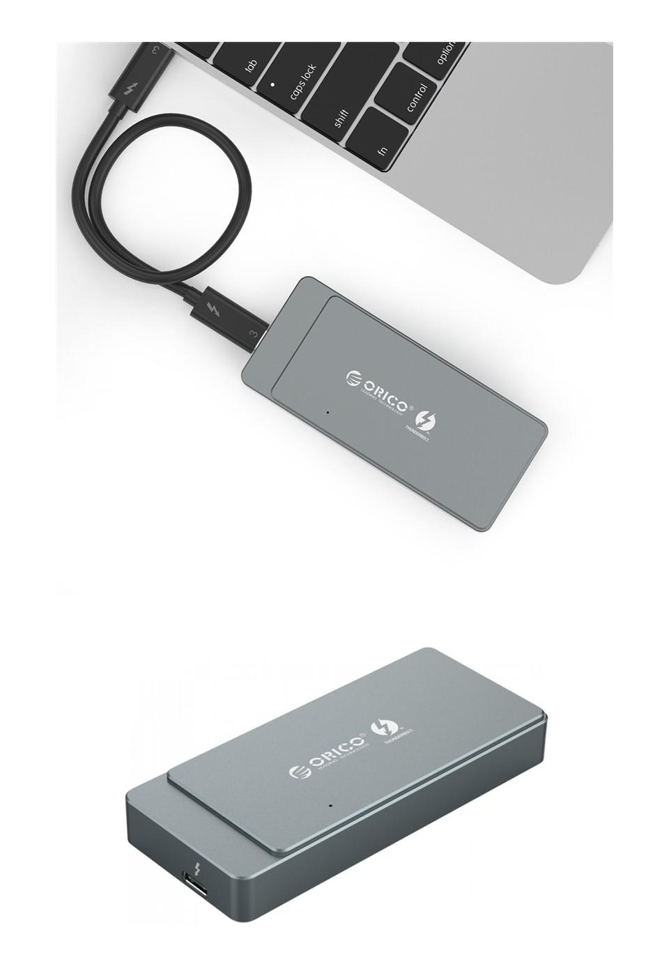 Orico Thunderbolt 3 M.2 NVME Enclosure Silver product