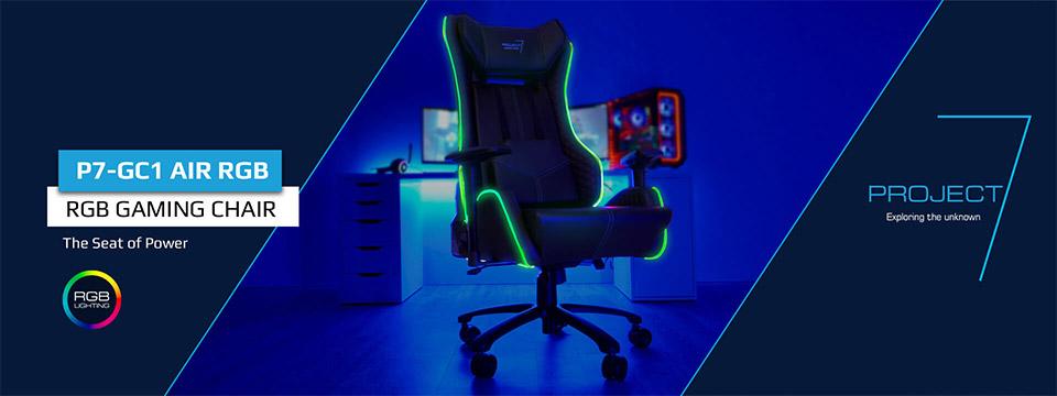 Aerocool Project 7 Gc1 Air Rgb Gaming Chair Aer P7 Gc1 Air