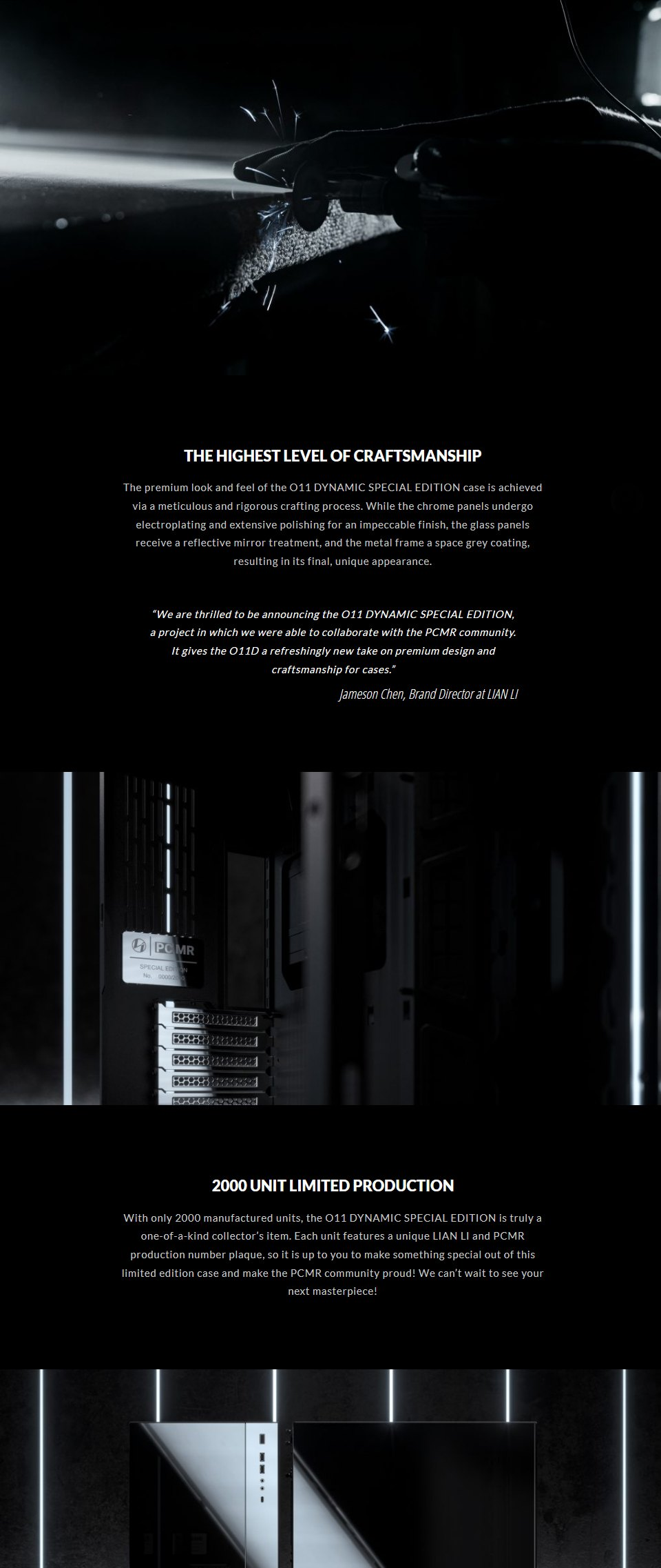 Lian Li PC-O11 Dynamic XL PCMR Limited Edition Case features 2