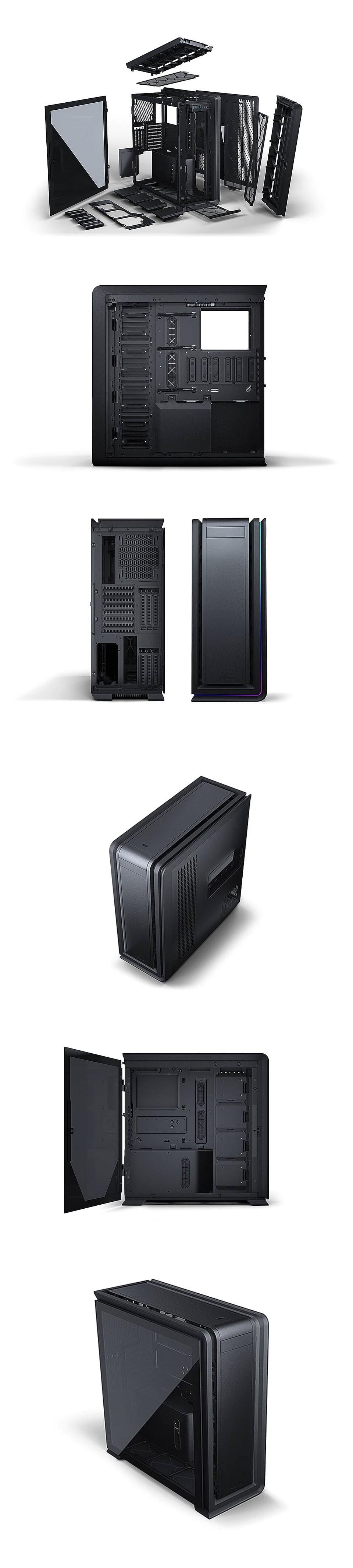Phanteks Enthoo 719 D-RGB TG Full Tower Case Satin Black product