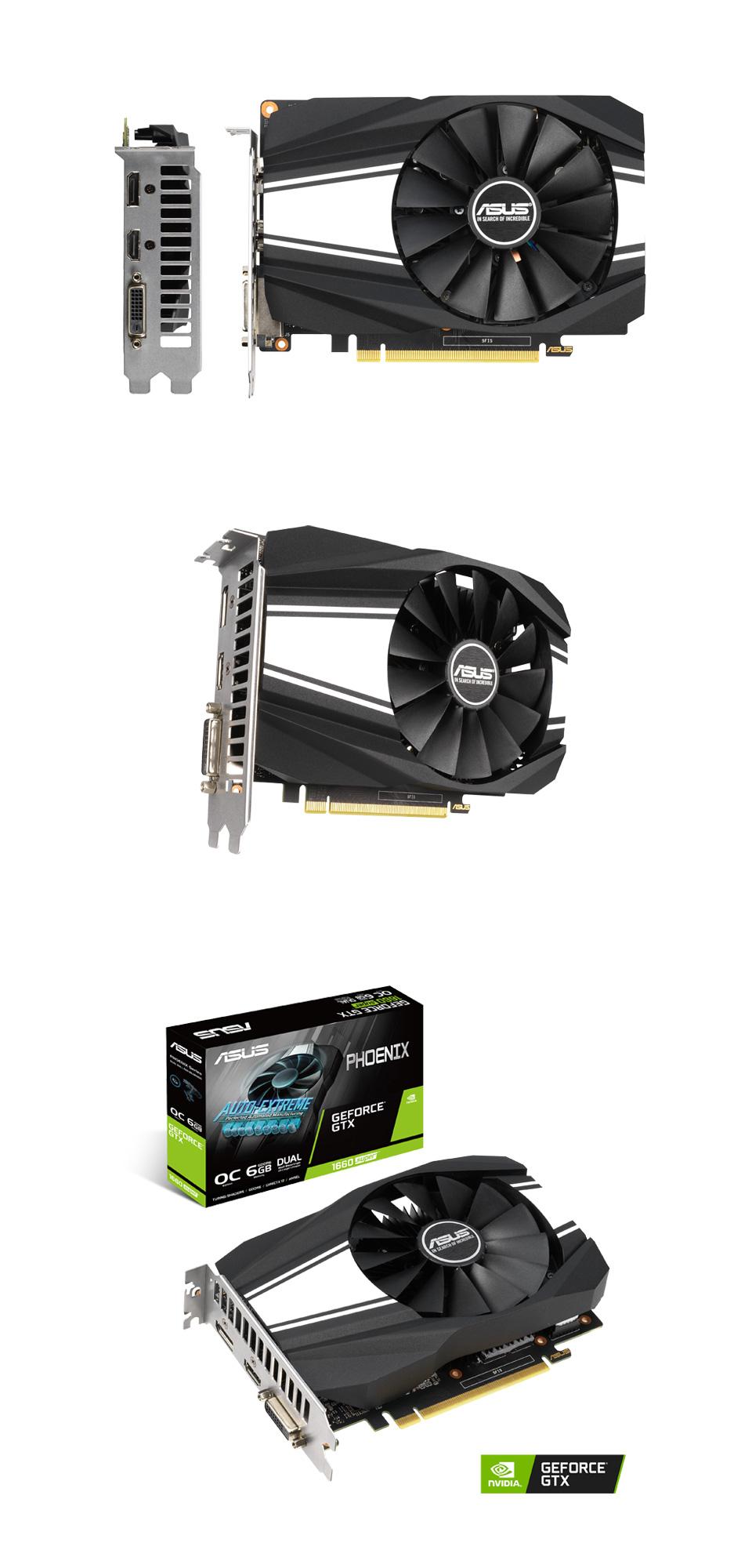 ASUS GeForce GTX 1660 Super Phoenix OC 6GB product