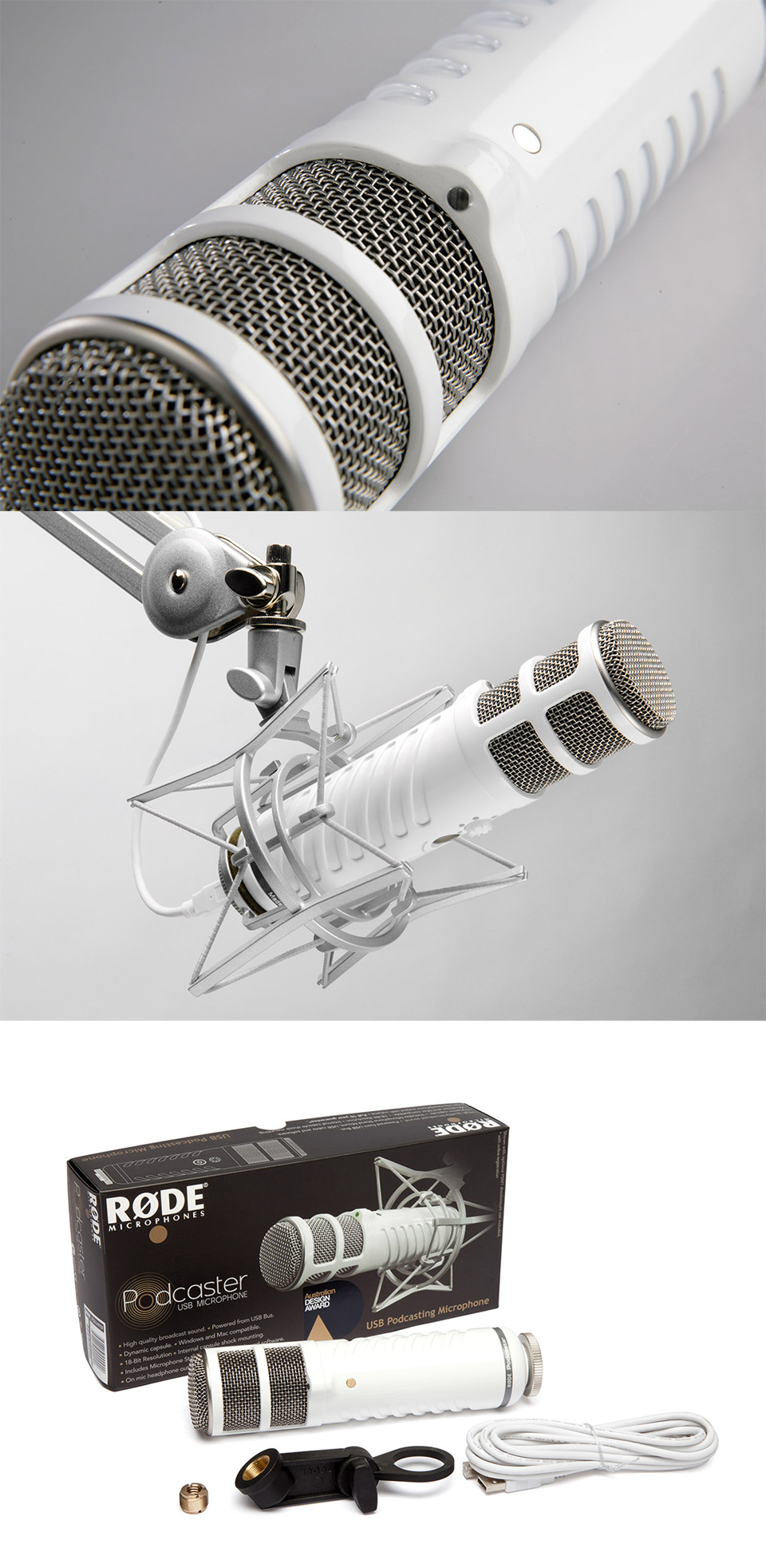 Rode Podcaster USB Broadcast Quality Microphone