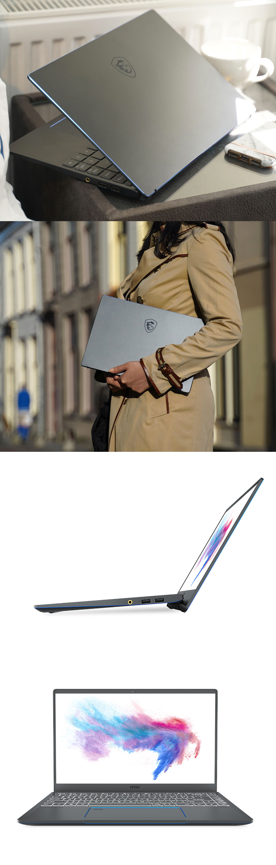 MSI Prestige 15 GTX1650 14in UHD 100% ADOBE RGB Notebook product