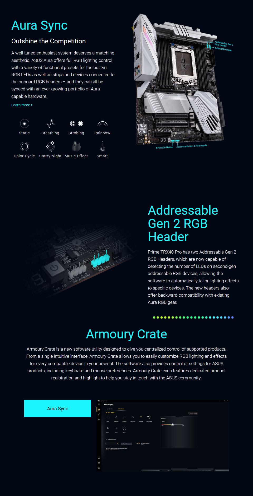 ASUS Prime TRX40 Pro Motherboard features 11
