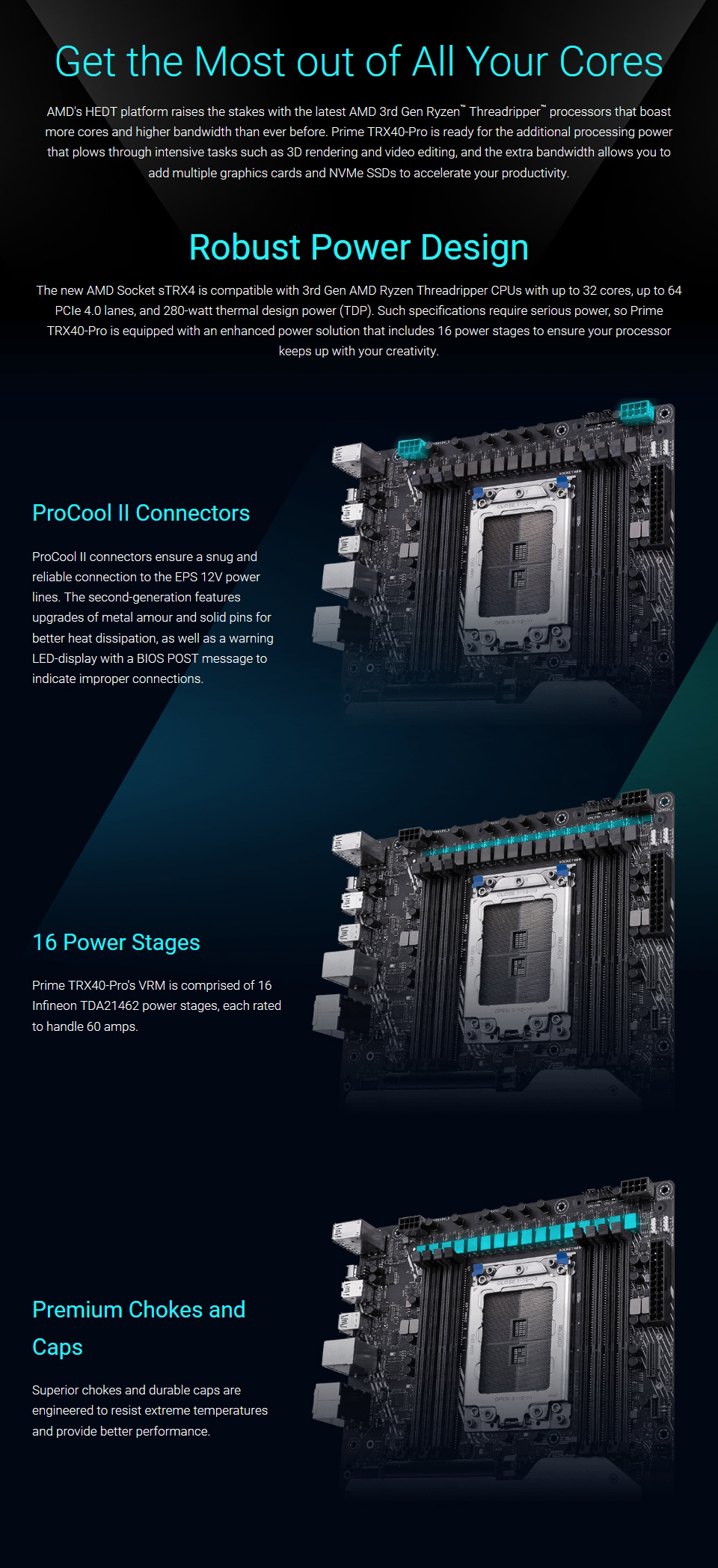 ASUS Prime TRX40 Pro Motherboard features 2