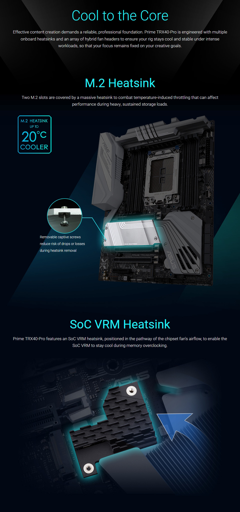 ASUS Prime TRX40 Pro Motherboard features 5