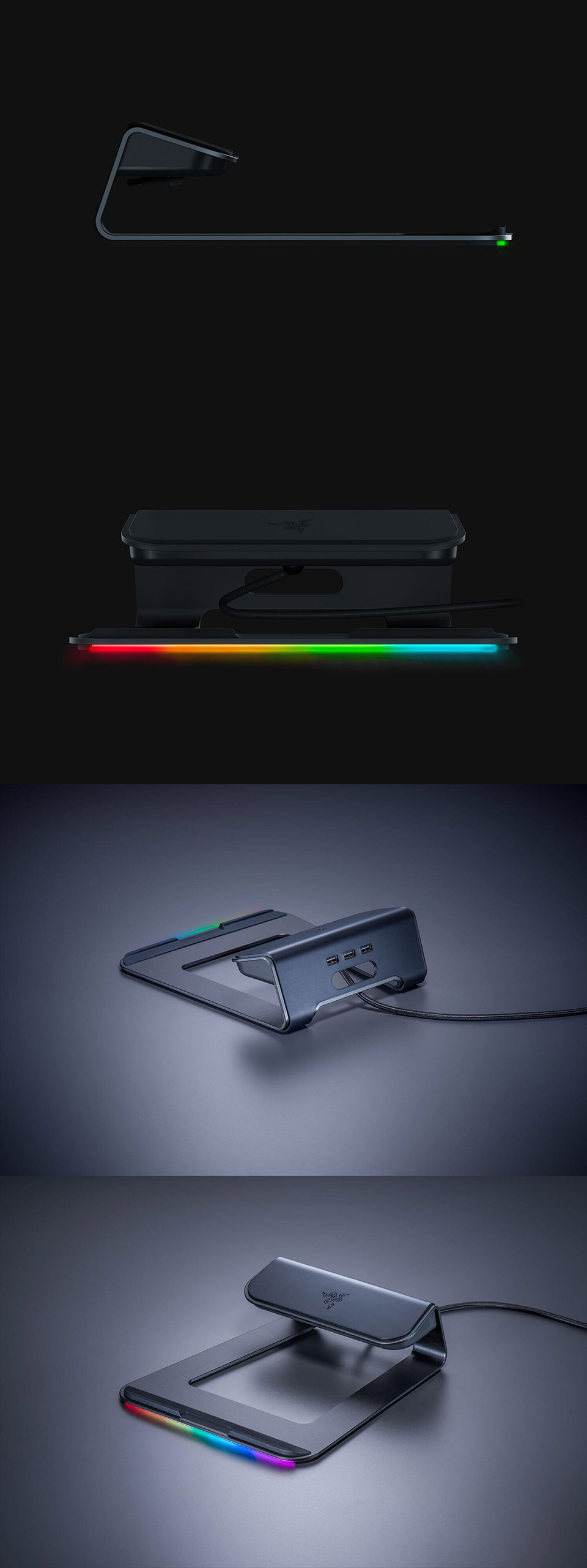 Buy Razer Chroma Laptop Stand Rc21 01110200 Pc Case