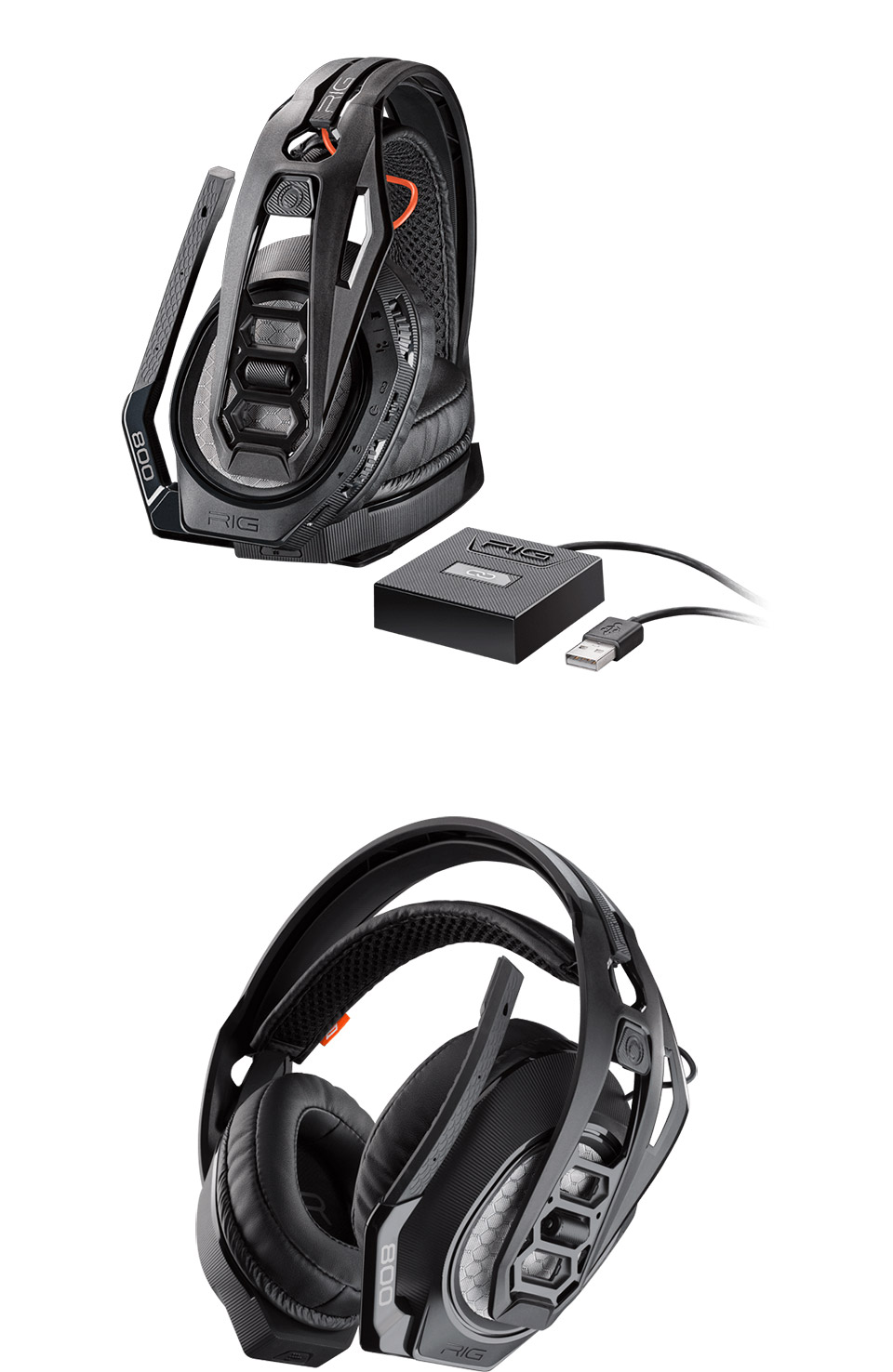 Plantronics RIG 800HS Wireless Gaming Headset For PS4 [RIG