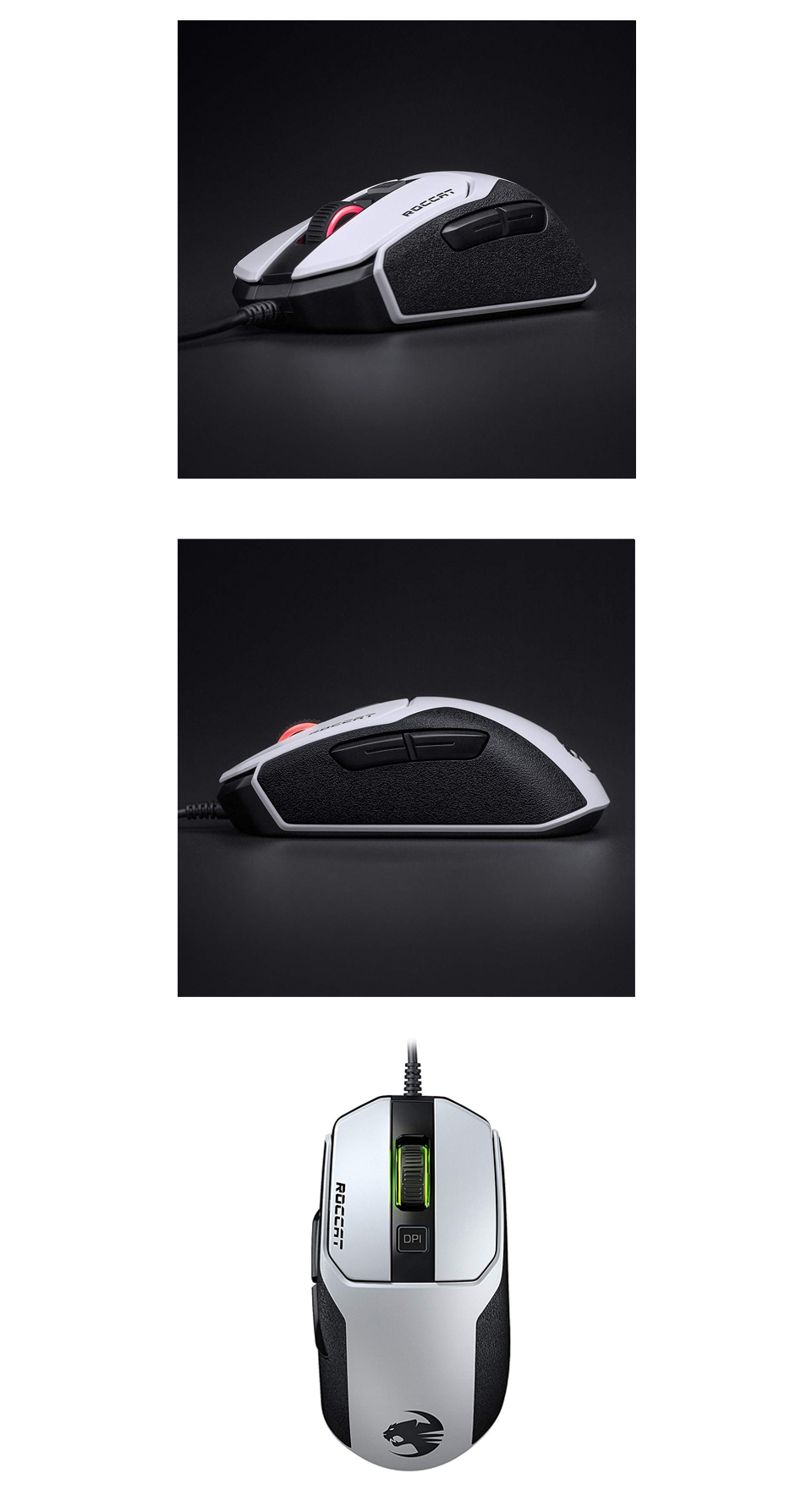 Roccat Kain 102 AIMO RGB Gaming Mouse White product