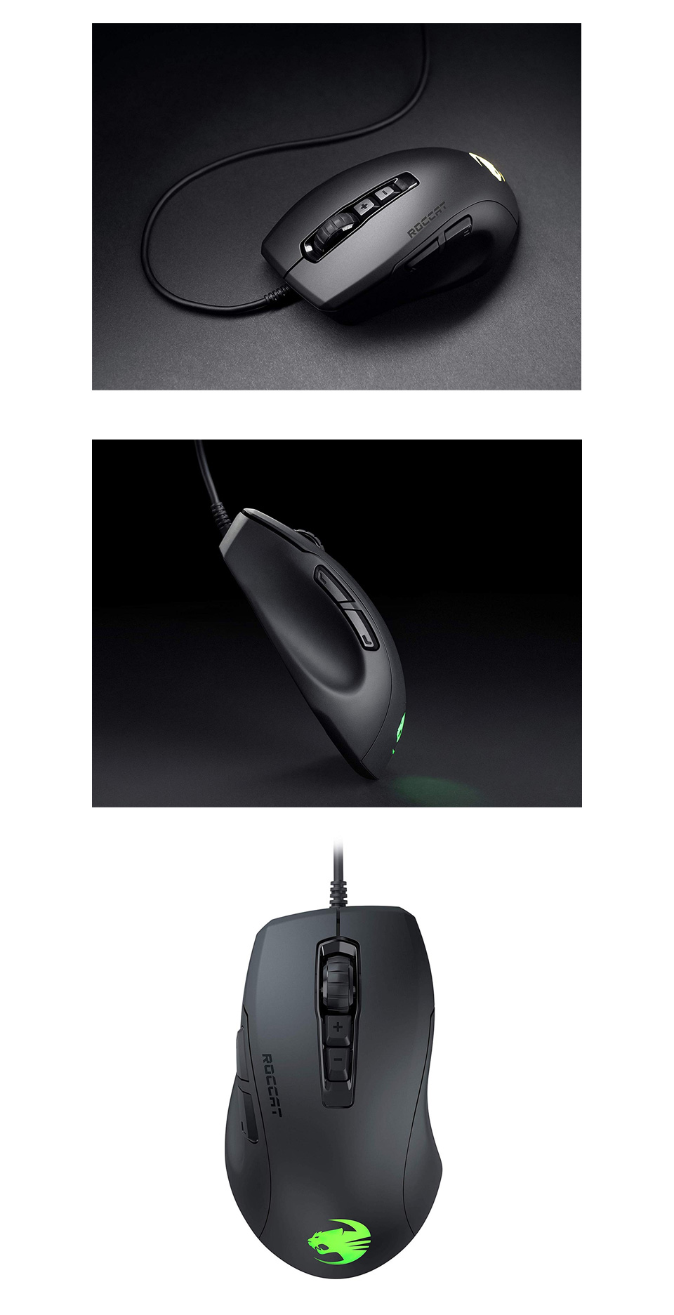 Roccat Kone Pure Ultra Gaming Mouse Black product