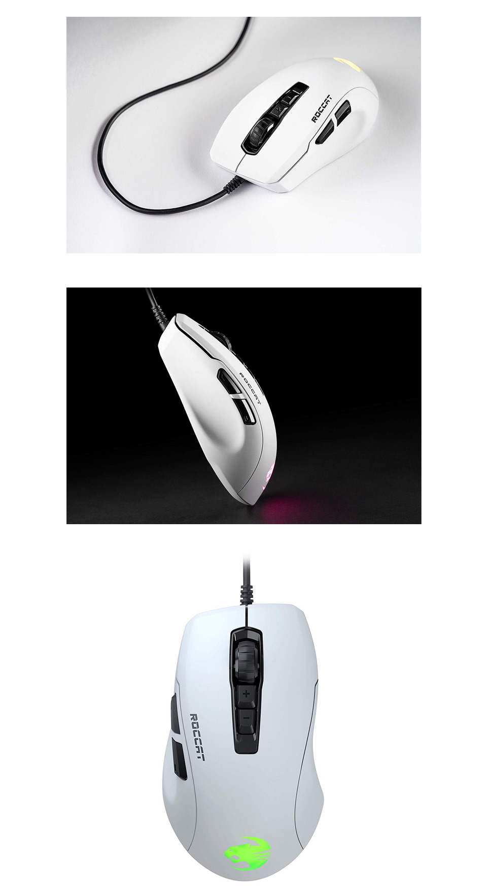 Roccat Kone Pure Ultra Gaming Mouse White product