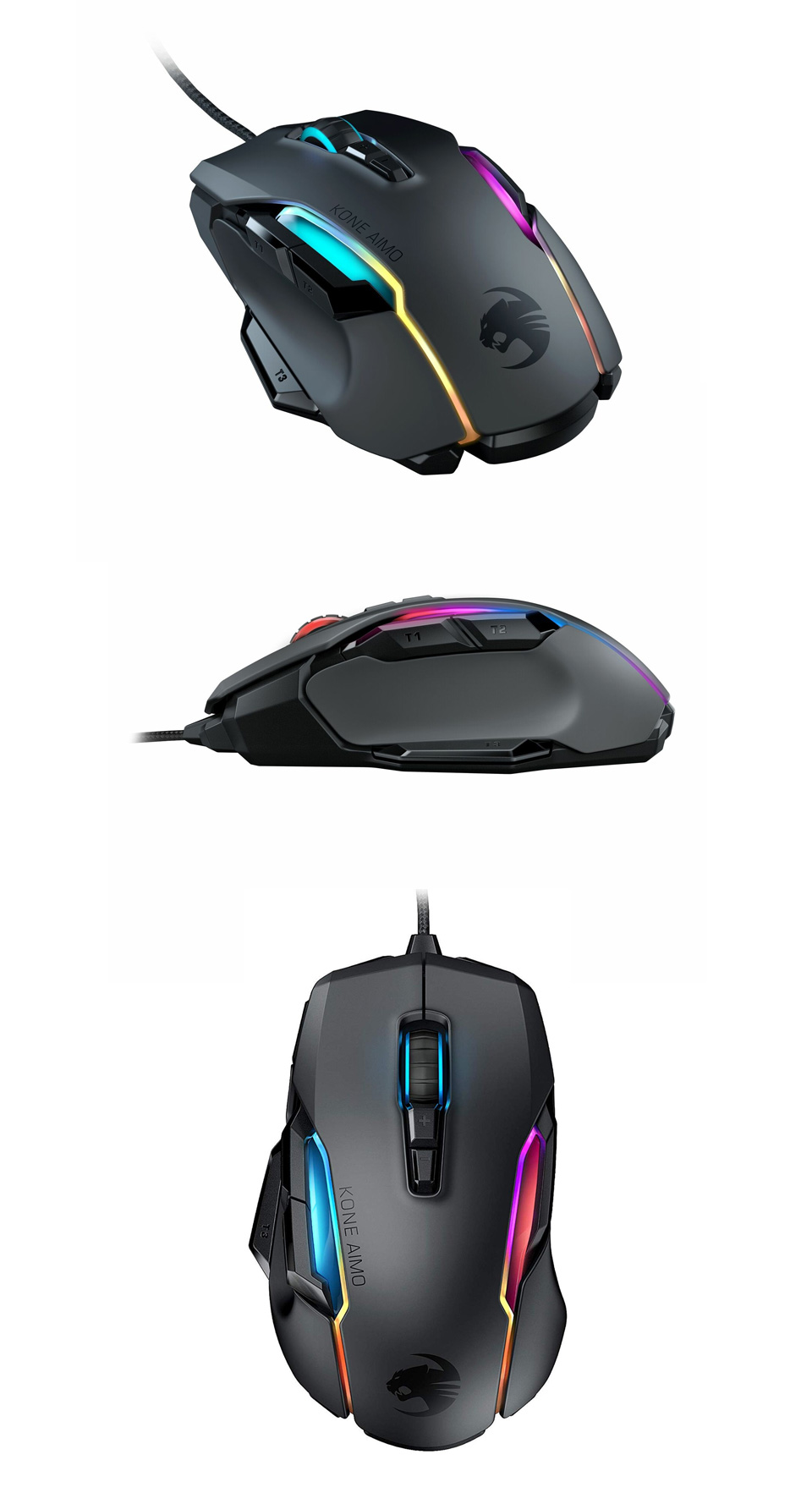 Roccat Kone AIMO Remastered Gaming Mouse Black product