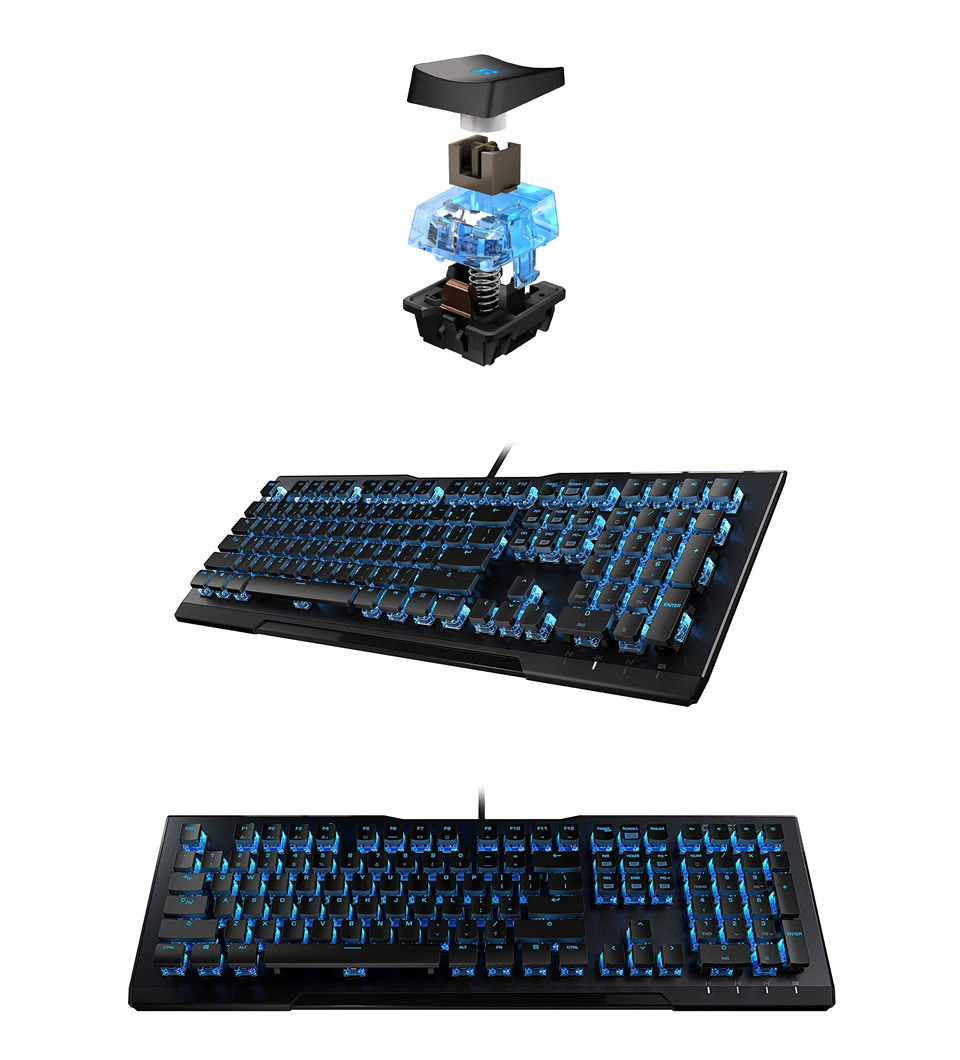 Roccat Vulcan 80 Mechanical Gaming Keyboard Brown Switch product