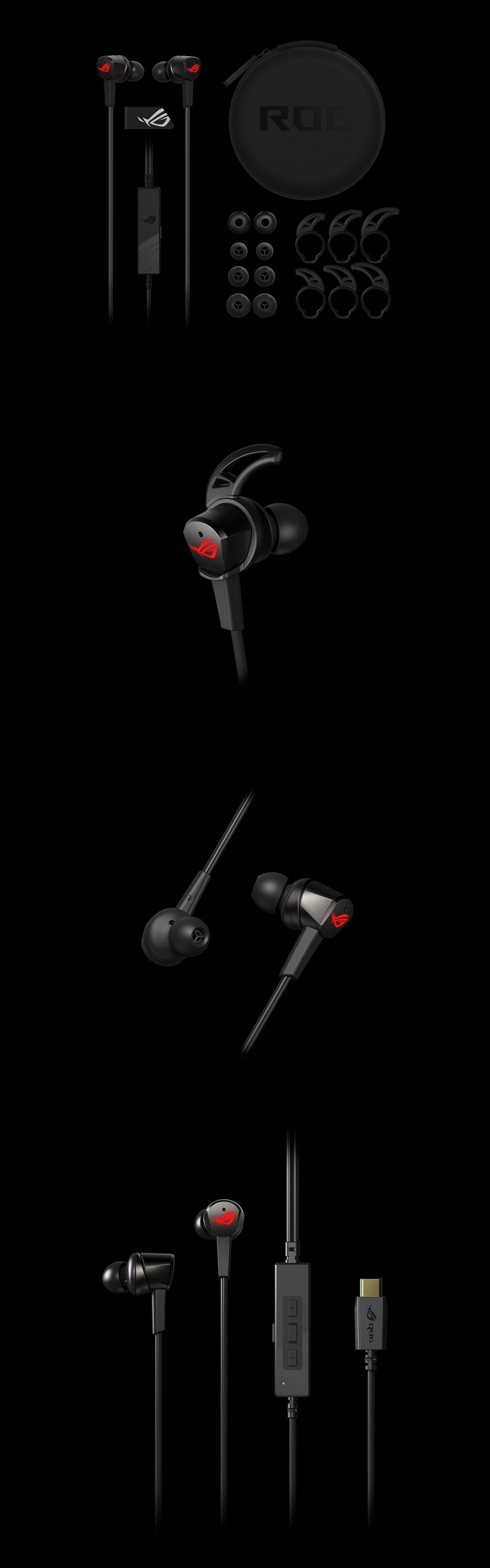 ASUS ROG Cetra In-Ear USB-C Headphones with ANC product
