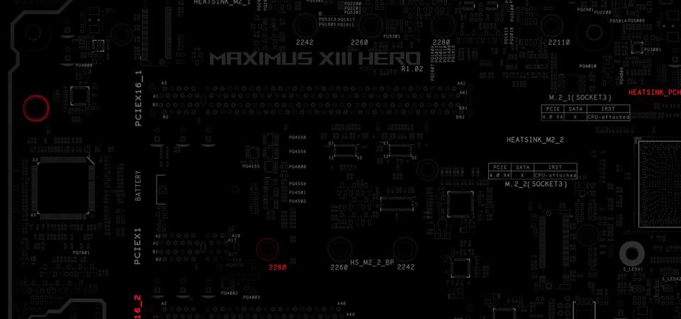 לוח אם ASUS ROG Maximus XIII Hero