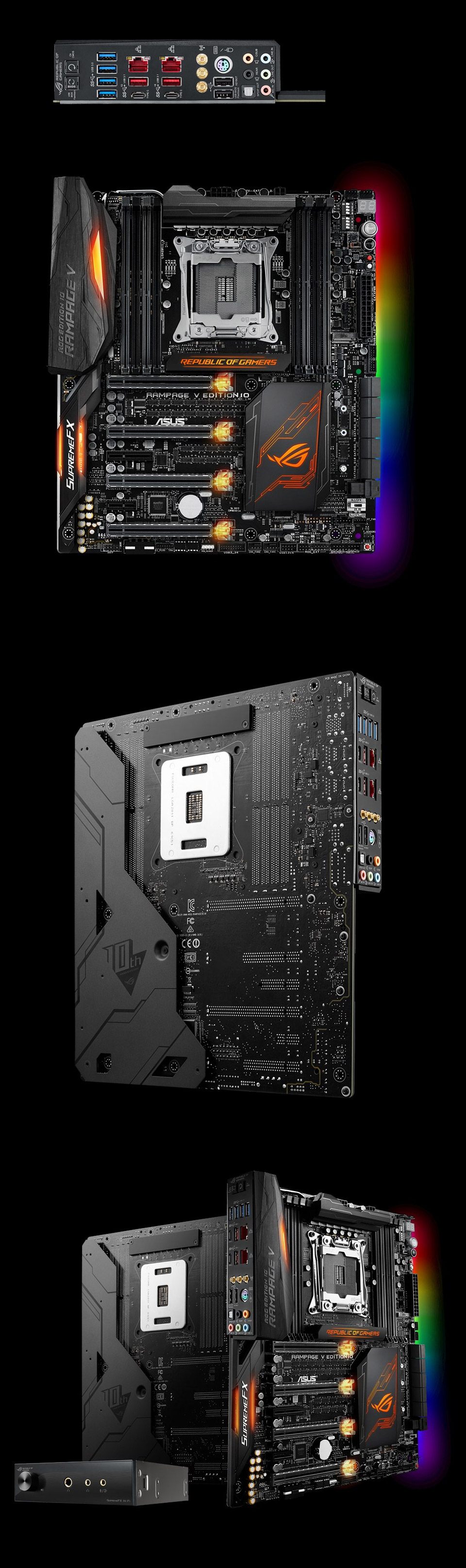 Asus Rog Rampage V Edition 10 Pc Case Gear Motherboard Try Watching This Video On Youtubecom Or Enable Javascript If It Is Disabled In Your Browser