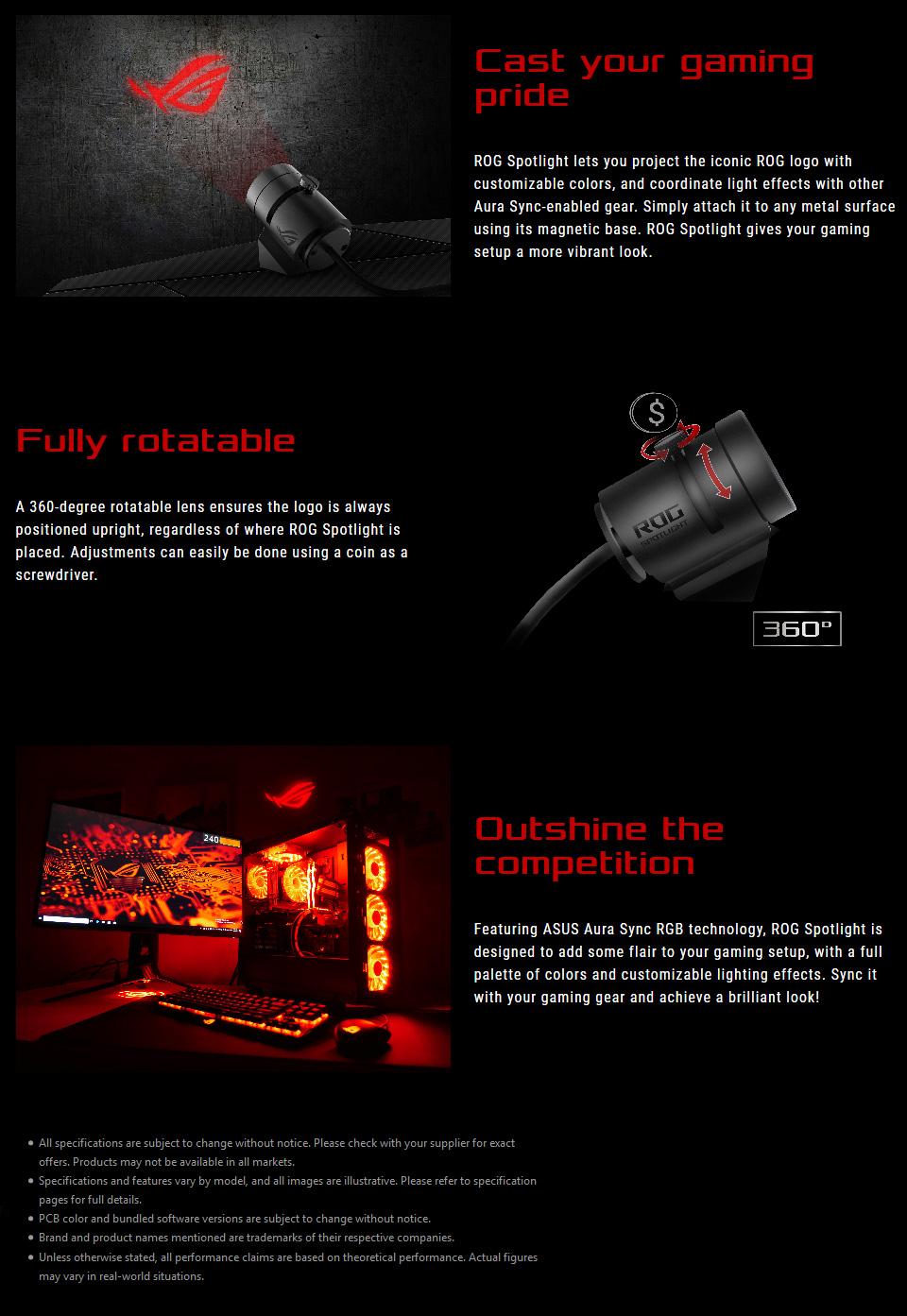 ASUS ROG Aura Sync RGB Spotlight