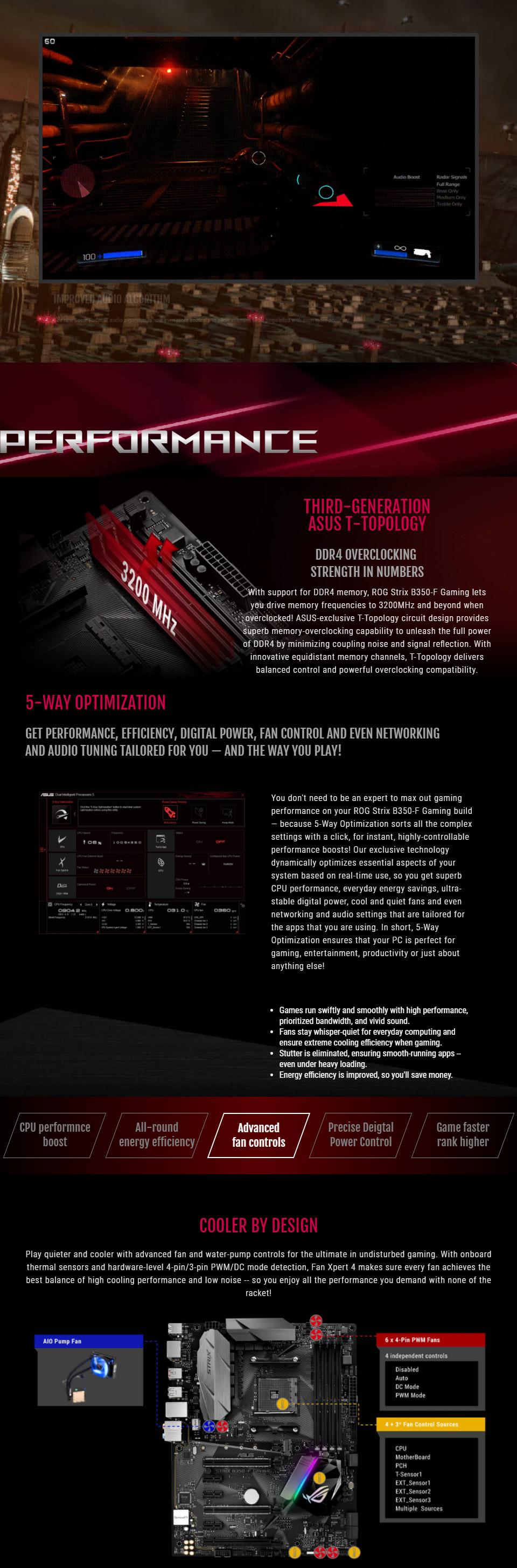 ASUS ROG Strix B350-F Motherboard [ROG-STRIX-B350-F-GAMING