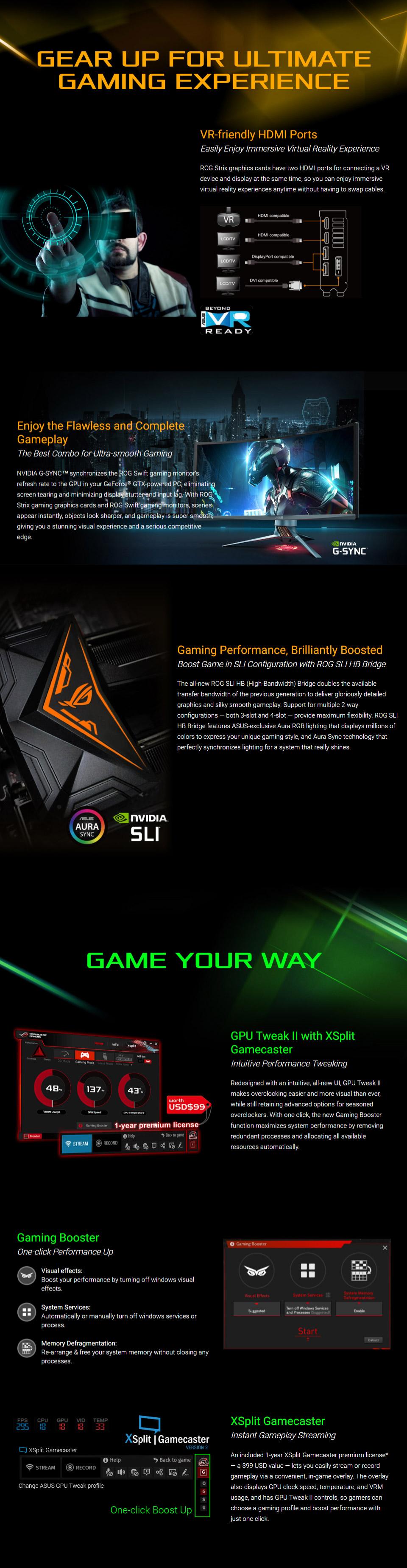 ASUS ROG Strix GeForce GTX 1080 Ti 11GB [ROG-STRIX-GTX1080TI