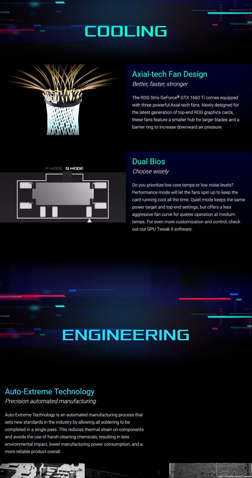ASUS ROG GeForce GTX 1660 Ti Strix Gaming OC 6GB