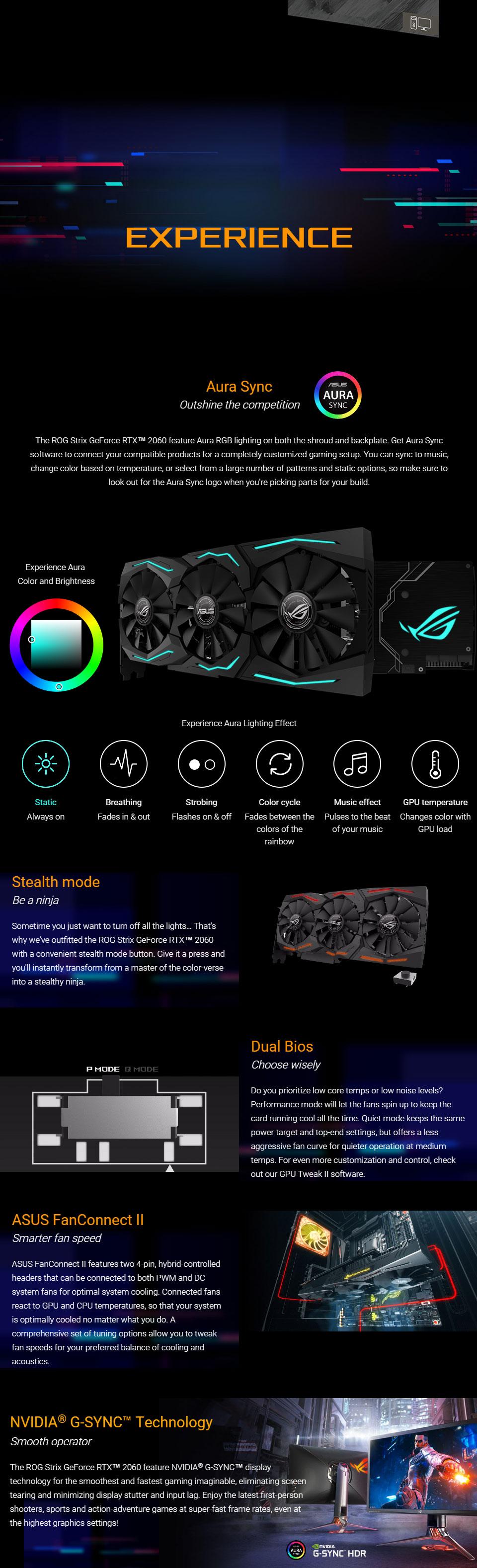 ASUS ROG Strix GeForce RTX 2060 OC 6GB