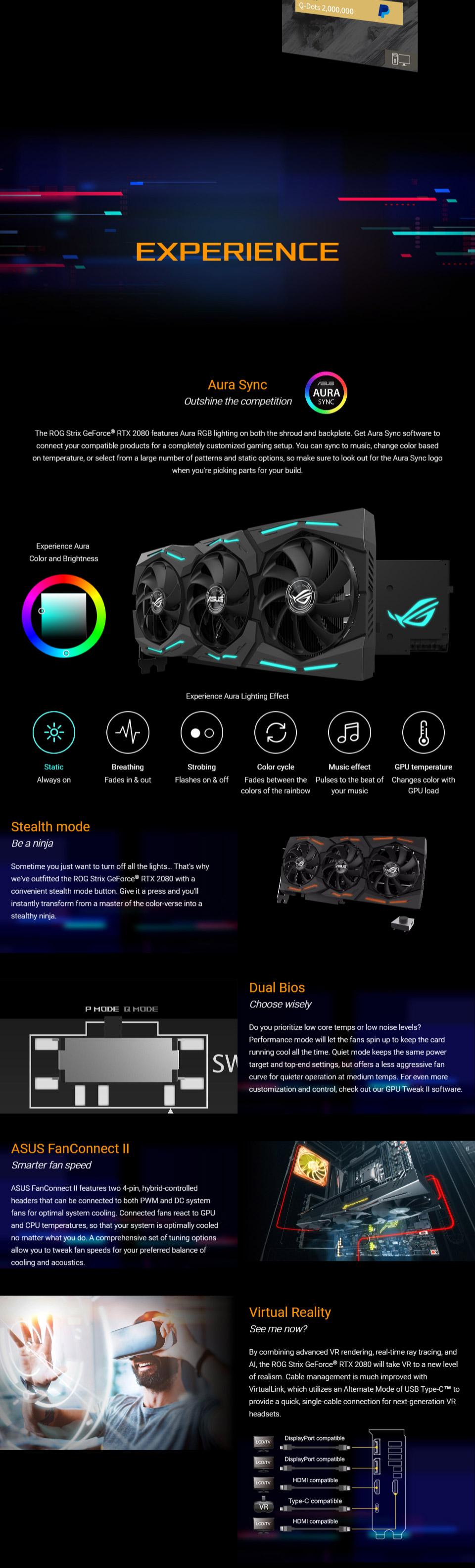 ASUS ROG Strix GeForce RTX 2080 OC Gaming 8GB [ROG-STRIX