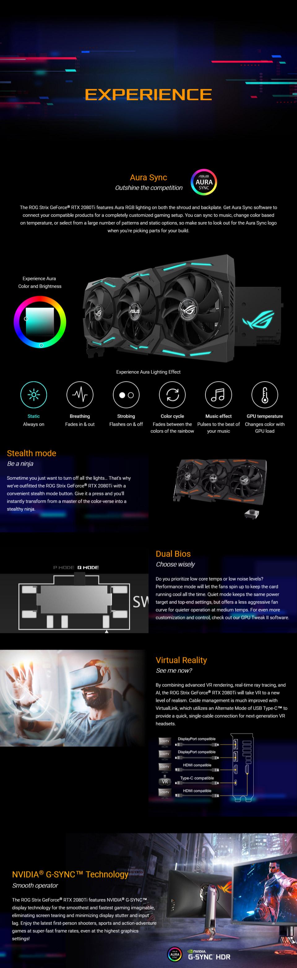 ASUS ROG Strix GeForce RTX 2080 Ti OC 11GB