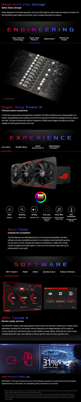 ASUS ROG Strix Radeon RX 5600 XT OC 6GB features 3