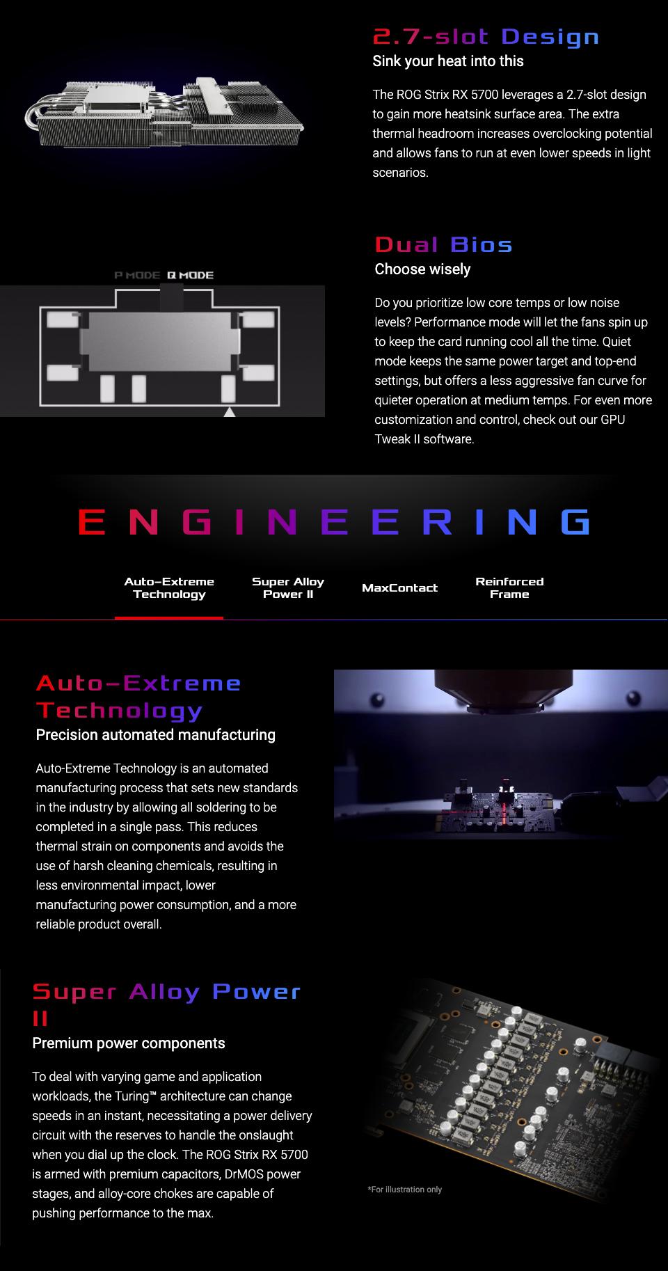 ASUS ROG Strix Radeon RX 5700 OC 8GB
