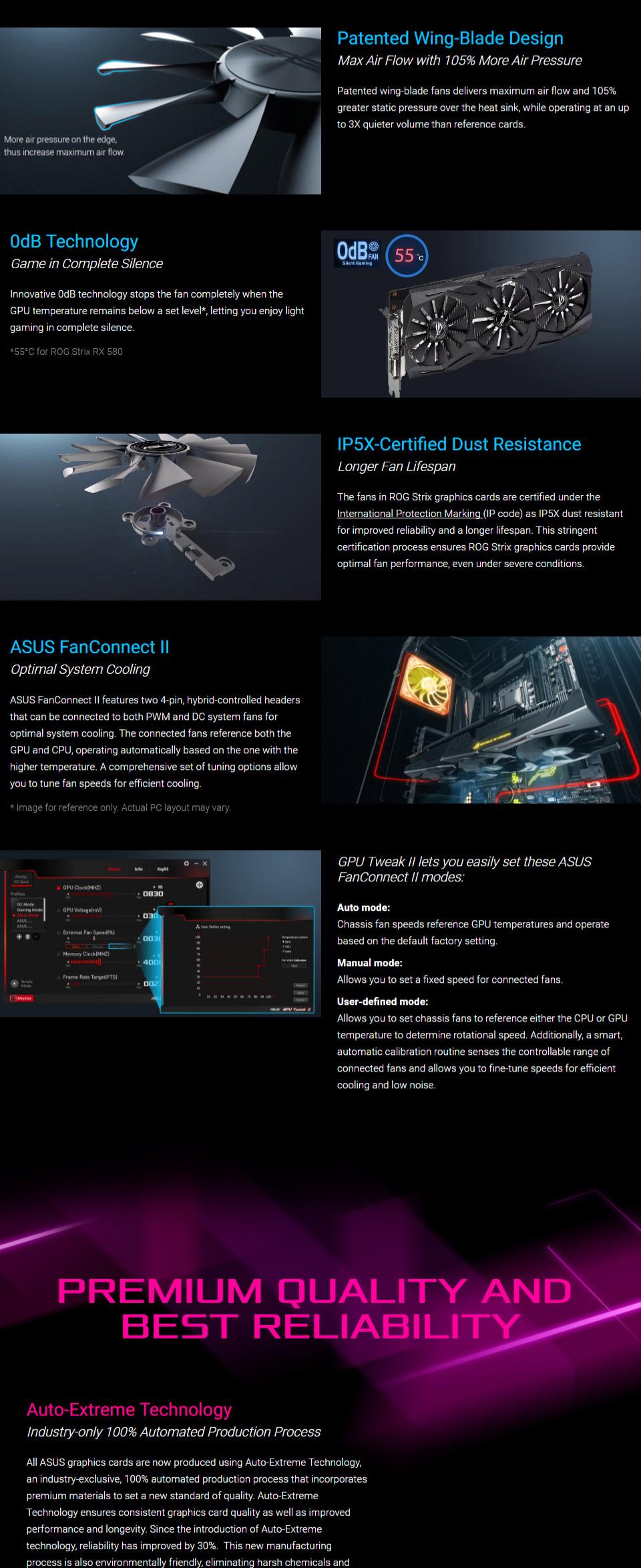 ASUS ROG Radeon RX 580 Strix Gaming TOP Edition 8GB [ROG-STRIX-RX580