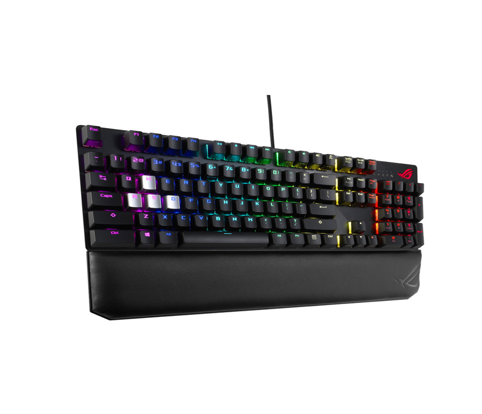 ASUS ROG Scope Deluxe RGB Mechanical Keyboard Cherry Red product