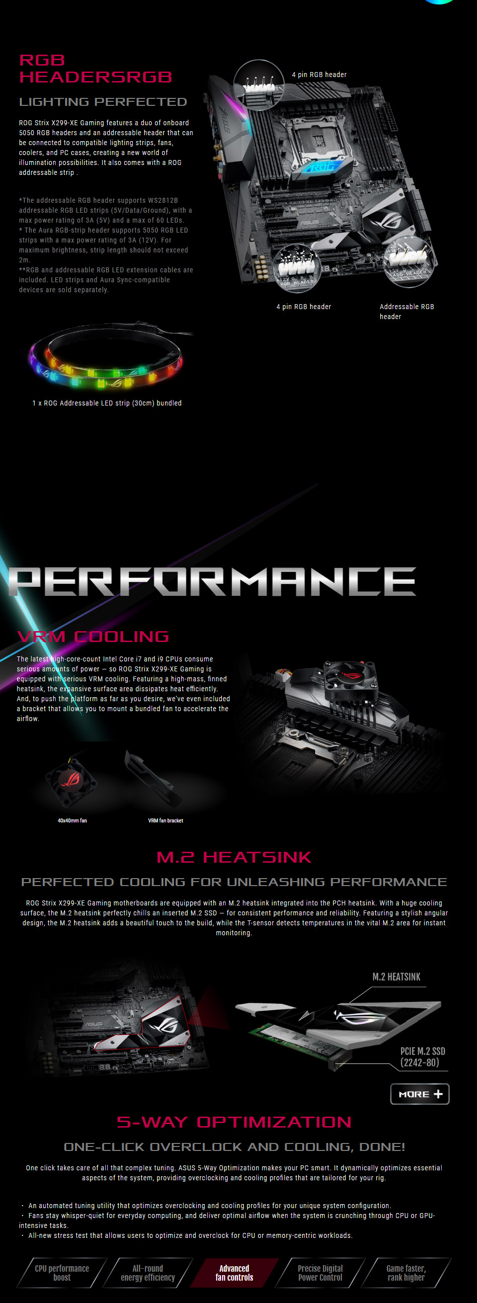 ASUS ROG Strix X299-XE Motherboard [ROG-STRIX-X299-XE-GAMING