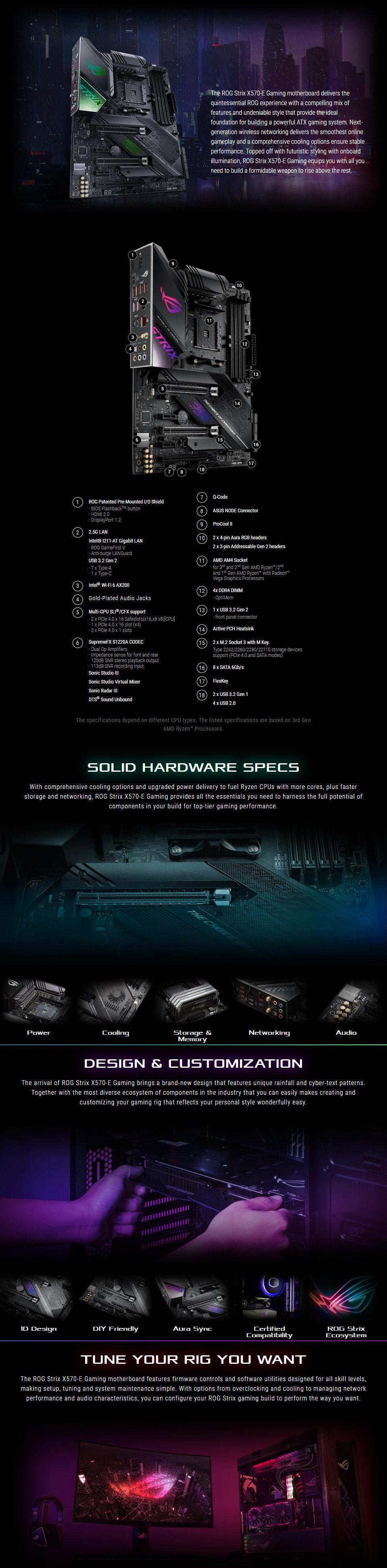 ASUS ROG Strix X570-E Gaming Motherboard