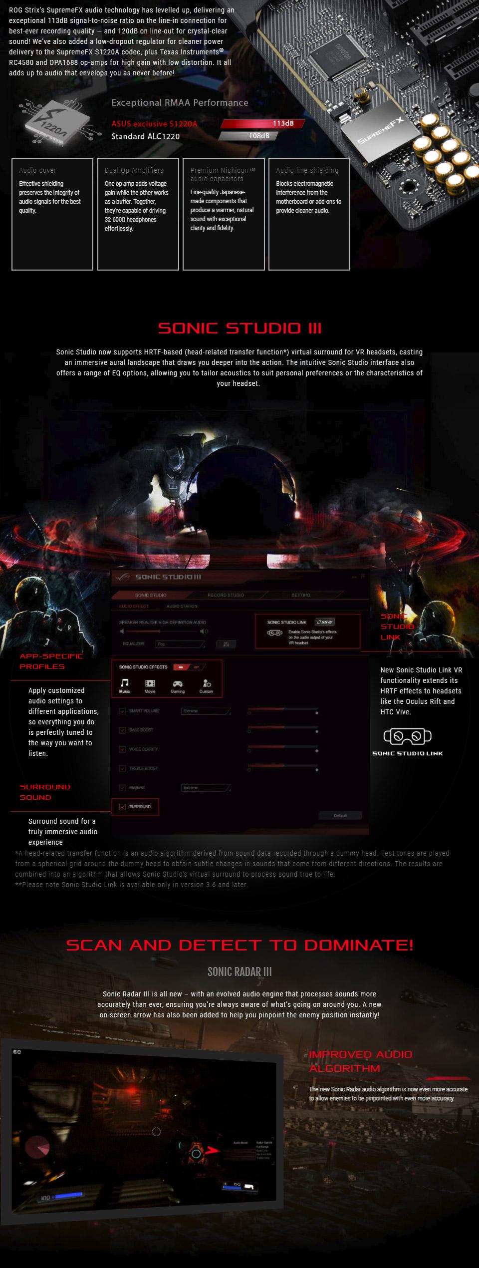 ASUS ROG Strix Z370-F Gaming Motherboard [ROG-STRIX-Z370-F