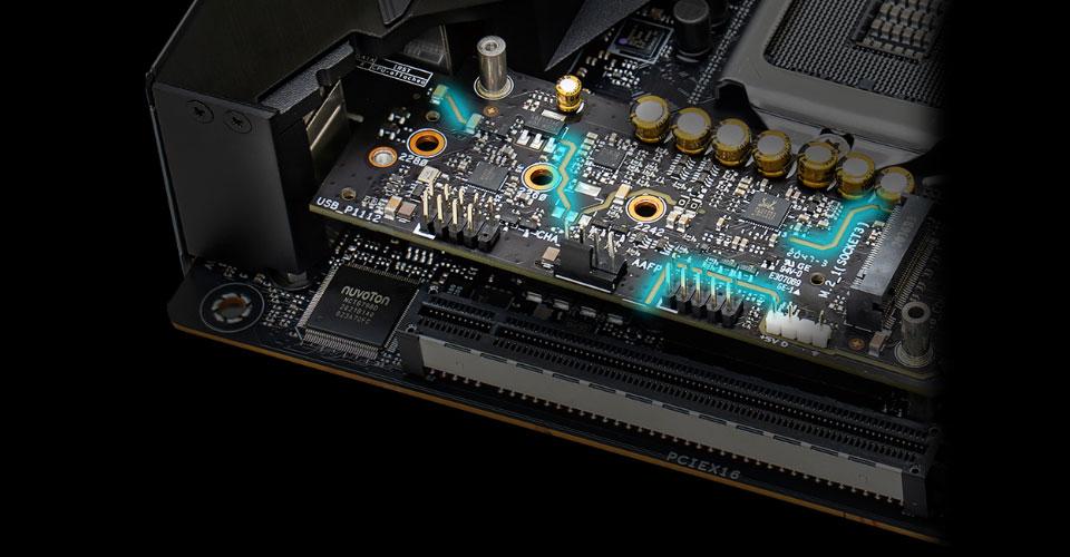 לוח אם ASUS ROG Strix Z590-I Gaming Wi-Fi