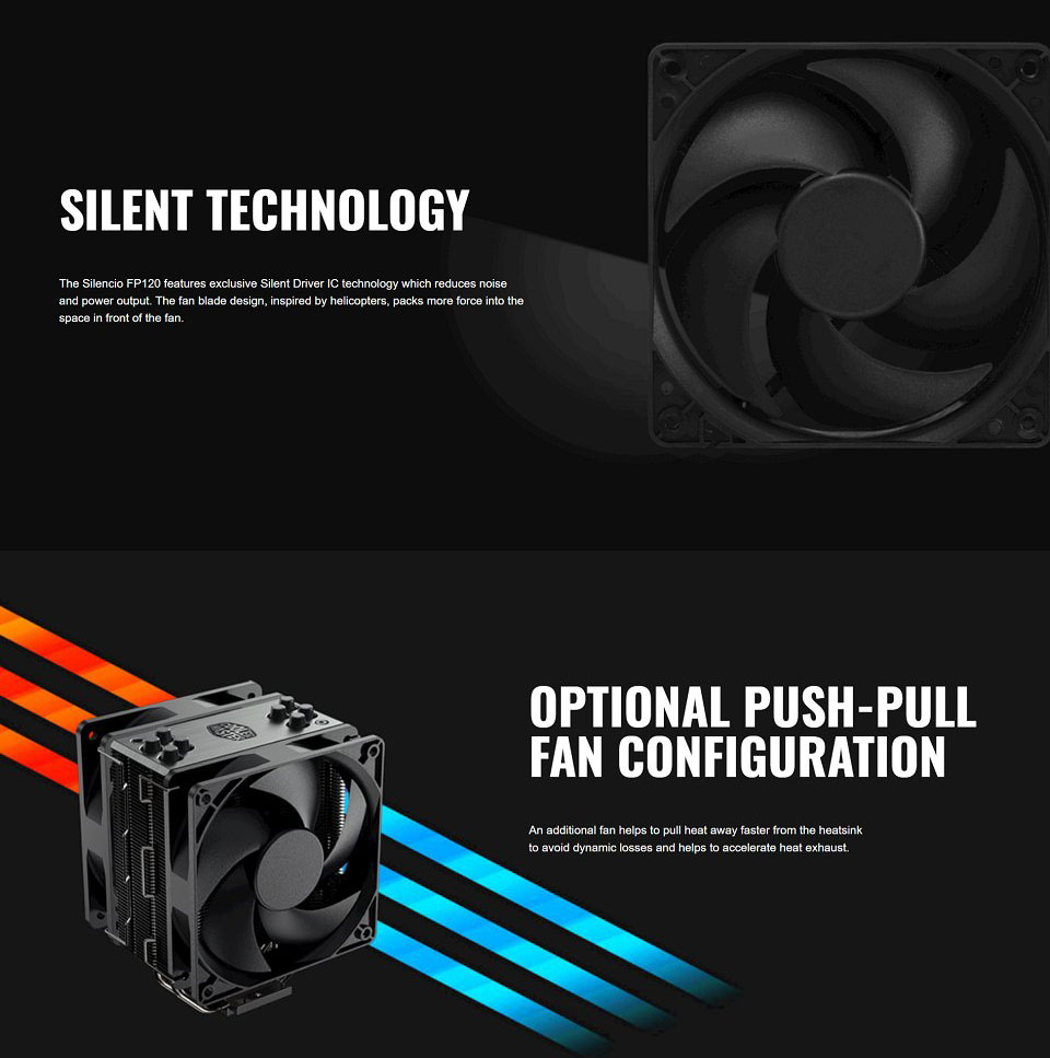 Cooler Master Hyper 212 Black Edition CPU Cooler features 2