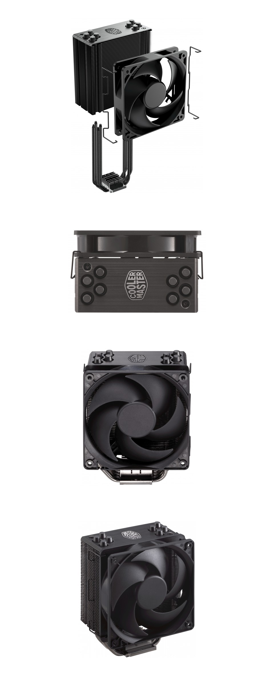 Cooler Master Hyper 212 Black Edition CPU Cooler product