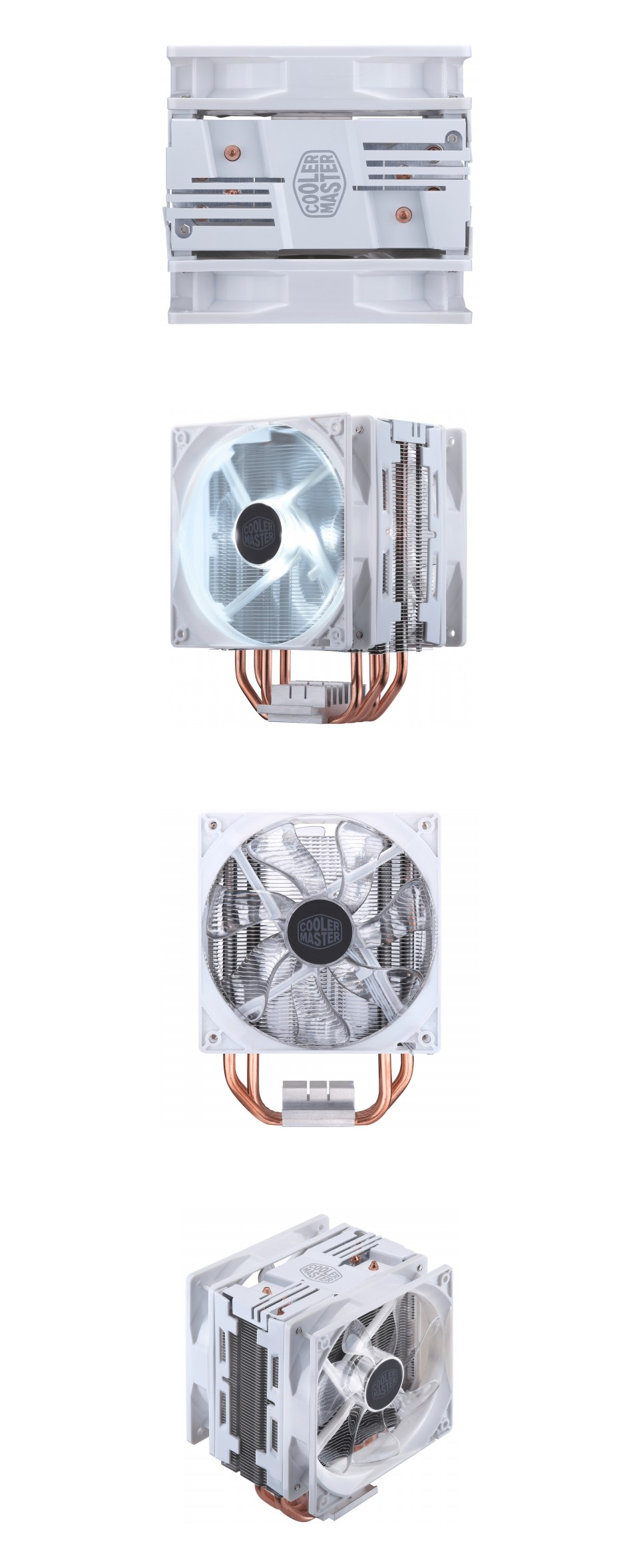 Cooler Master Hyper 212 LED Turbo White Edition CPU Cooler product