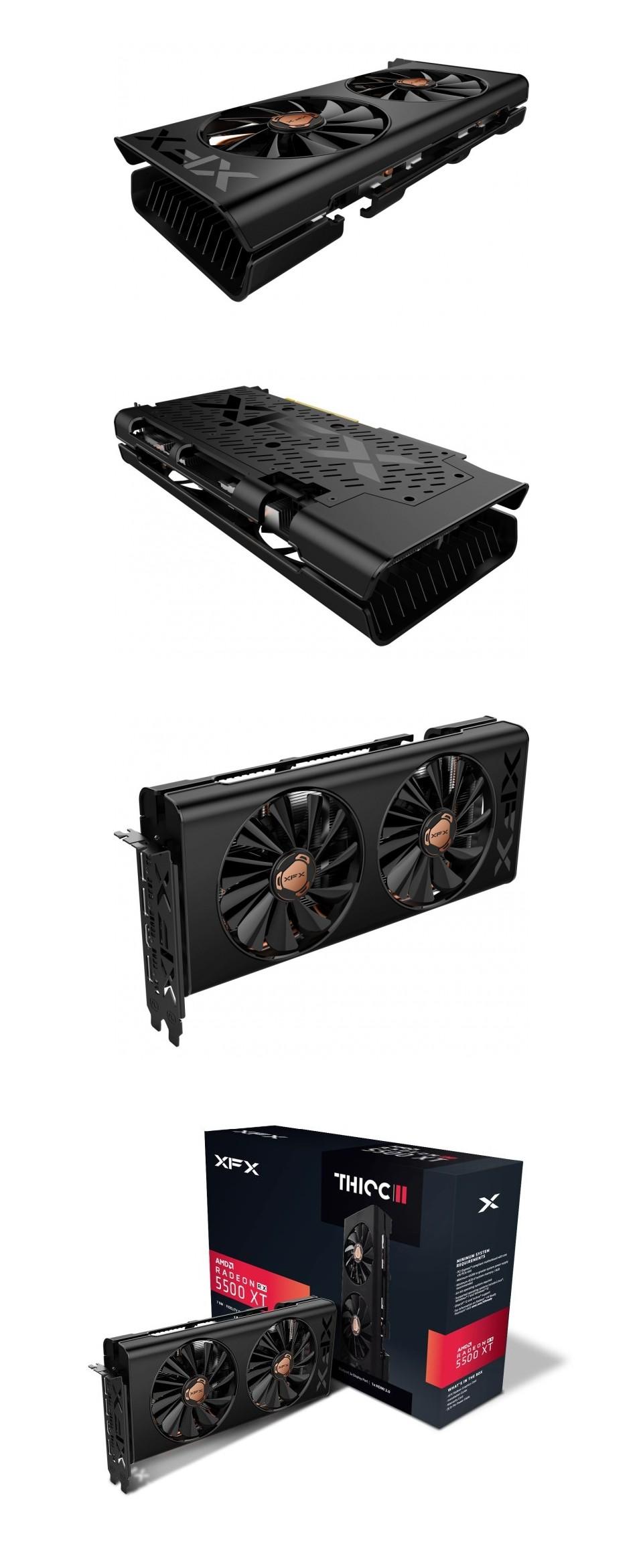 XFX Radeon RX 5500XT THICC II Pro 8GB product