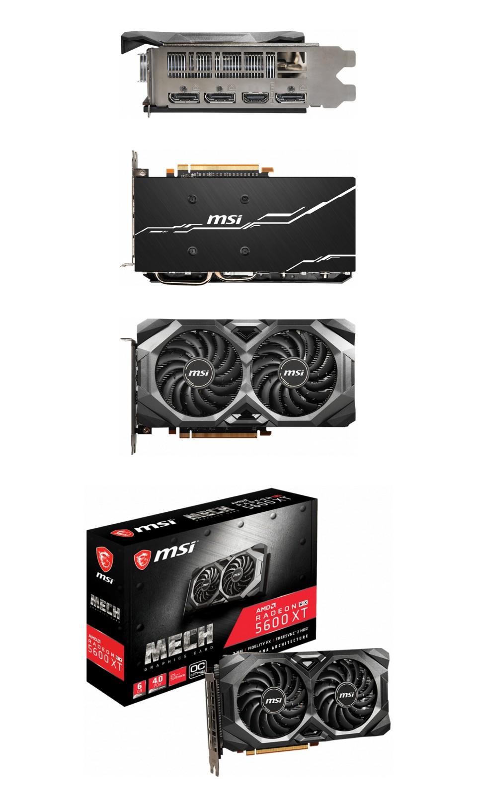 MSI Radeon RX 5600 XT Mech OC 8GB product